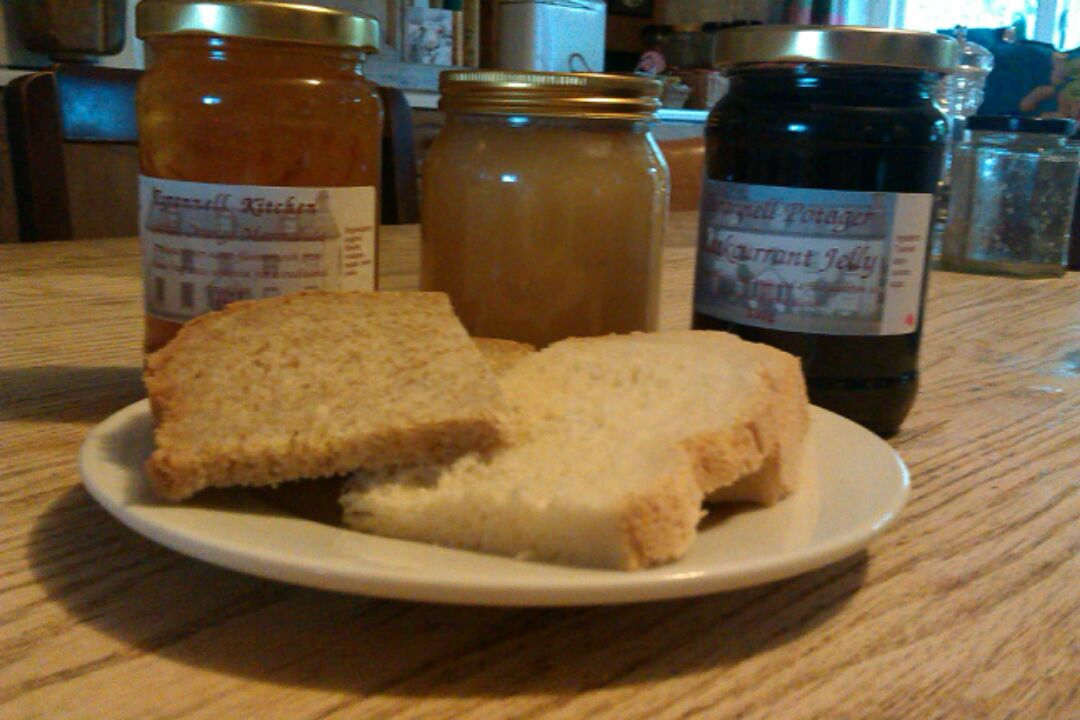 Bread and Tyrannell preserves